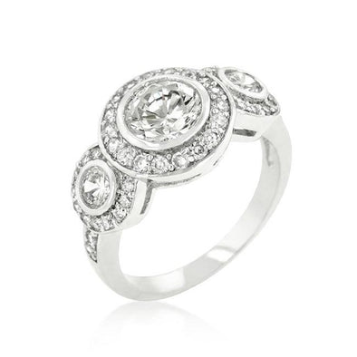 WildKlass Cubic Zirconia Ring-WildKlass Jewelry
