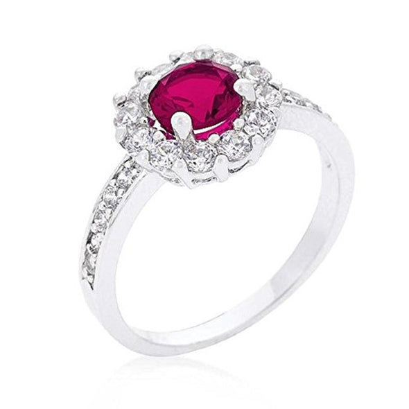 WildKlass Birthstone Engagement Ring in Pink-WildKlass Jewelry