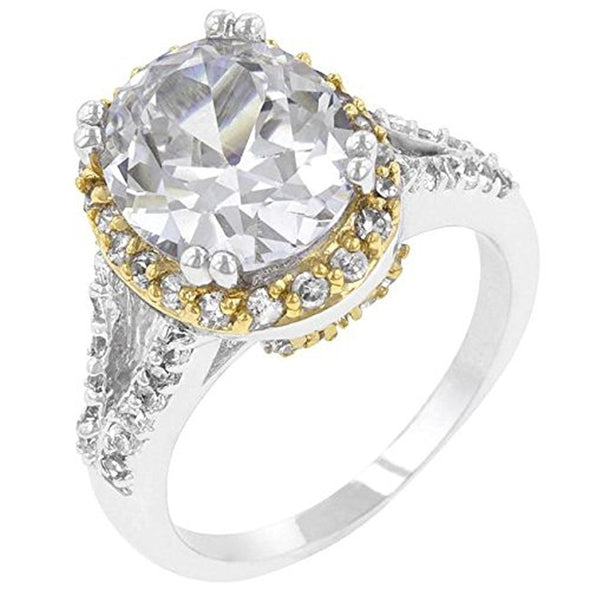 WildKlass Coronation Engagement Ring-WildKlass Jewelry