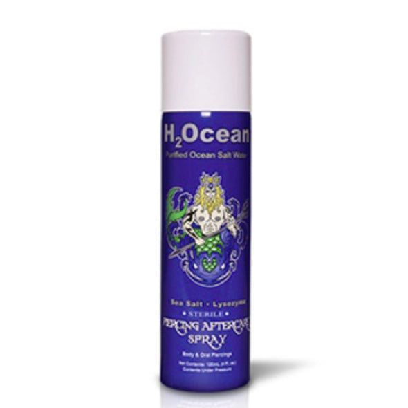 H2Ocean 4 OZ Piercing Aftercare Spray-WildKlass Jewelry