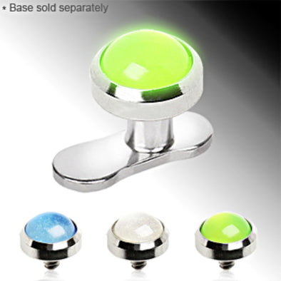Glow in the Dark Dermal Top-WildKlass Jewelry