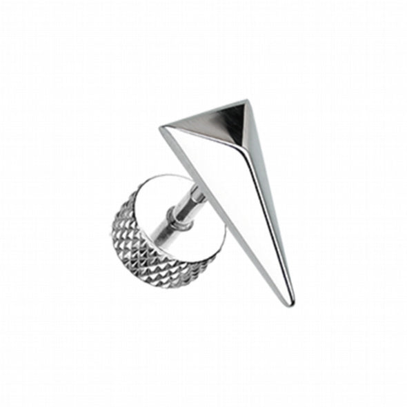 Triangle Force Steel Fake Plug-WildKlass Jewelry