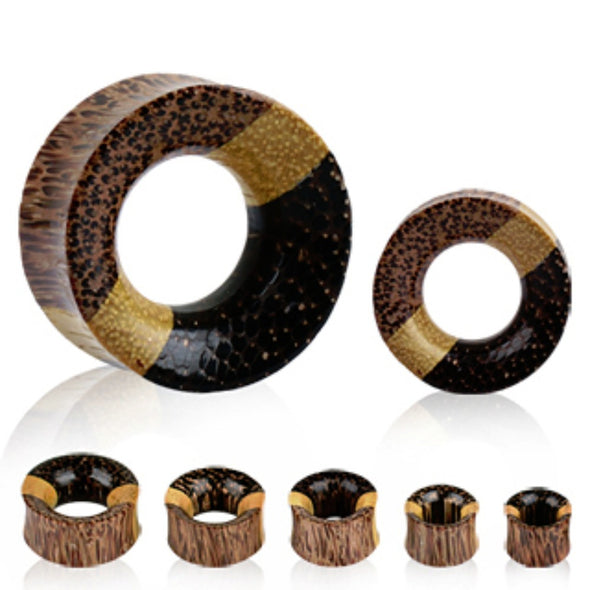 Three Woods FleshTunnel Ear Plug-WildKlass Jewelry