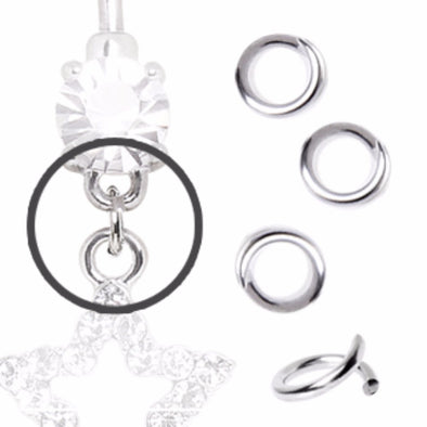 100pcs 316L Surgical Steel Loose Rings-WildKlass Jewelry