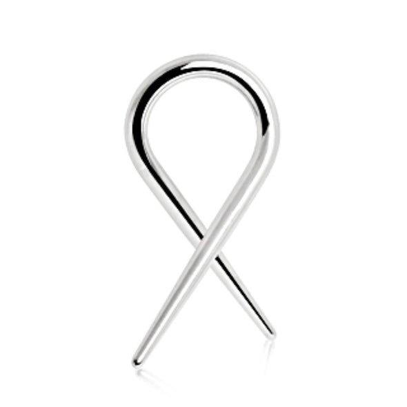 316L Surgical Steel Twisted Taper-WildKlass Jewelry