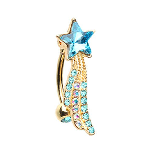 Wishing upon a Star Belly Button Ring-WildKlass Jewelry