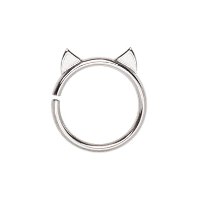 Annealed 316L Stainless Steel Cat WildKlass Cartilage Earring-WildKlass Jewelry