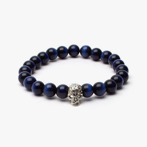Tiger's Eye Soul Bracelet // Blue