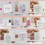 Love Cards - Set of 10 Cards Celebrating Romance