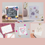 Thank You Collection - A set of 10 Thank You Cards + Postcards