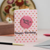 'Ready to Party' Birthday Badge Card