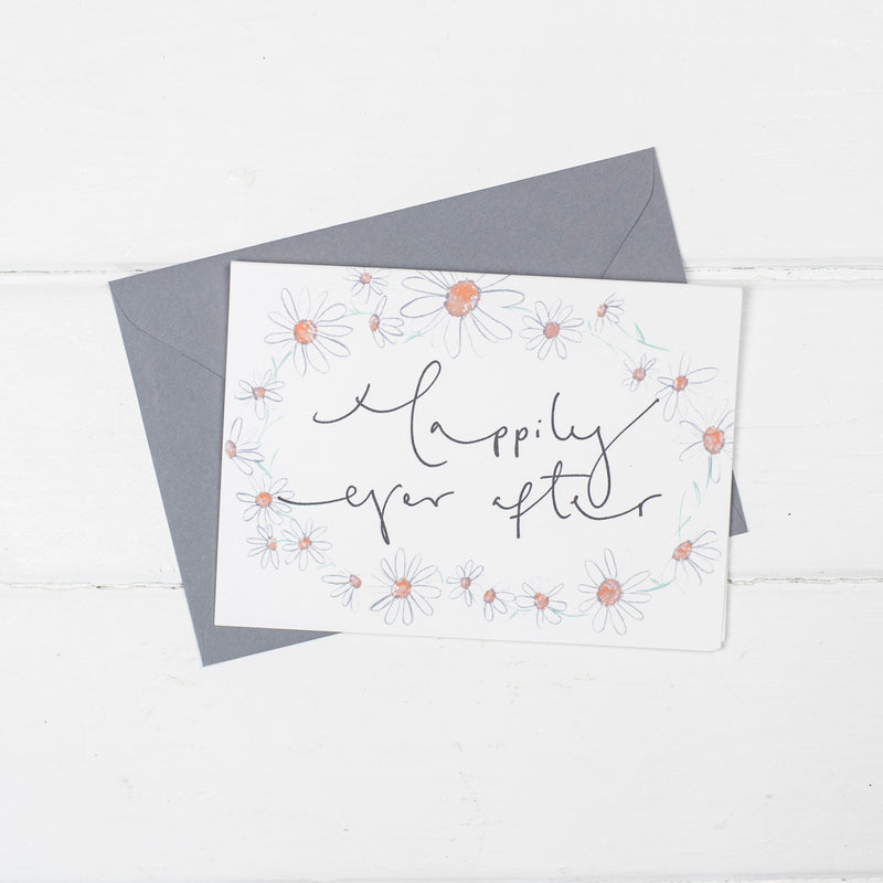 'Happily Ever After' Daisy Chain Card