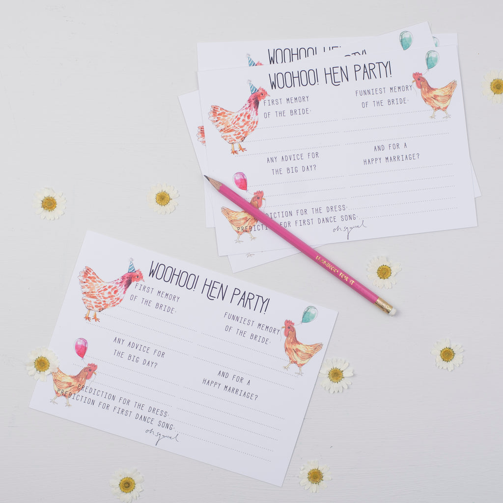 NEW 'Party Hens' Hen Party Memory + Advice Game