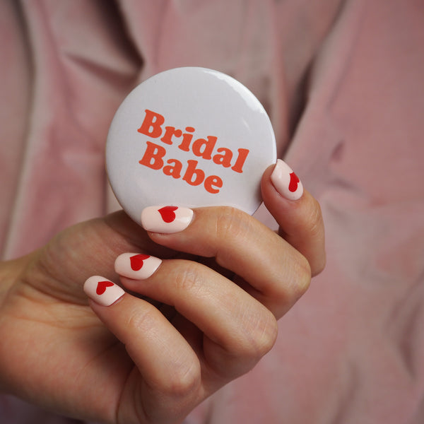 'Bridal Babe' Hen Party Badge