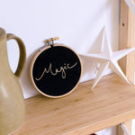 PREORDER - 'Magic' Velvet Hoop - Small Size