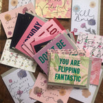SECOND SALE - SUPER BUNDLE of 25 Seconds Cards + Postcards - cards may vary from those pictured