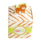 24 Count Born To Be Wild Party Favor Box Cute Jungle Themed Zoo Animals for Baby Shower Child Birthday