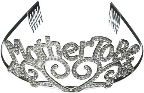 Mother To Be Tiara Baby Shower Mom Gift Crown Metal Baby Shower
