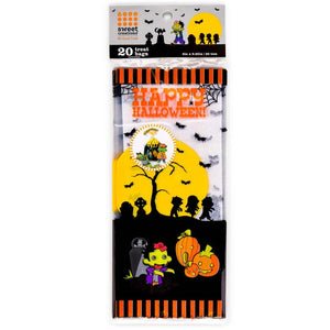 Sweet Creations 20 Count Party Treat Bags - Zombies