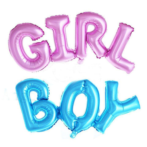 It's a Boy or It's a Girl Gender Reveal Mylar Balloon - Giant Foil Balloon  Large BG040218