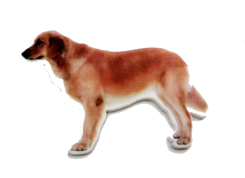 Labrador Dog Plastic Planar Flat back Embellishments Center LD2818