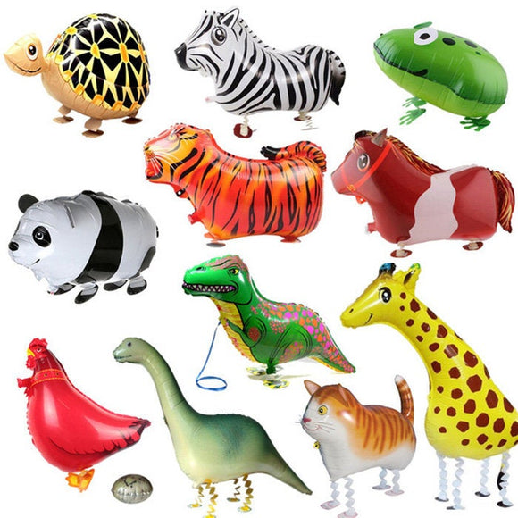 Large Foil Walking Pet Animals Large birthday Balloon Party Supplies Decoration Celebration AF071418