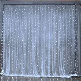 300 ct LED Curtain Fairy Lights 9.8 FT X 9.8 FT for  Weddings Christmas Holidays Parties Home Decor