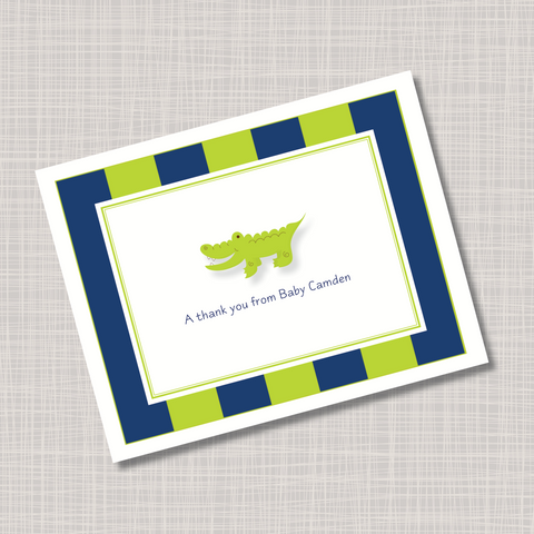 Baby Alligator Note Cards