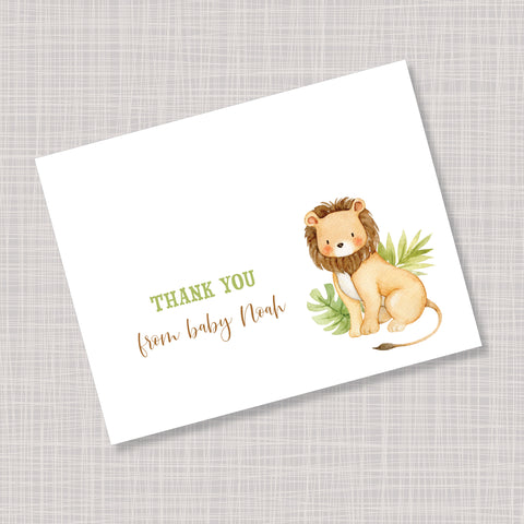 Baby Lion Note Cards