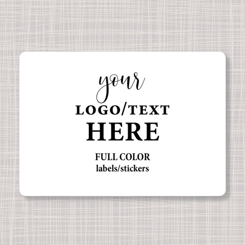 "Large Rectangular 5"" x 3.5"" Labels Stickers"