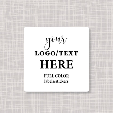 "Square 2"" Labels Stickers"