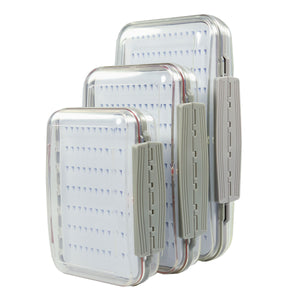 Two Sided Clear Fly Box
