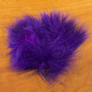 Spirit River UV2 Arctic Fox Tail Medallion