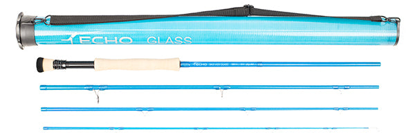 Echo Bad Ass Glass Quickshot Rod with tube #8, 8'0""
