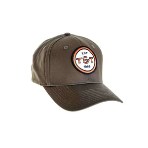 Thomas & Thomas Badge Cap - Loden