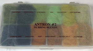 Antron #2 Dubbing Blends Dispenser