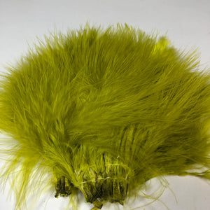 Marabou 1/4 oz Strung Blood Quill