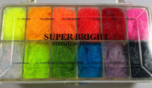 Wapsi Super Bright Steelhead Dubbing