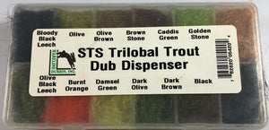 STS Trilobal Trout Dub Dispenser