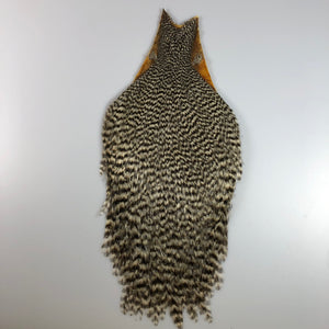 Grizzly Capon Streamer Necks - Natural - Older Stock