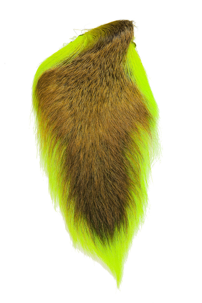 Fly Tying Hareline Large Northern Bucktail Olive