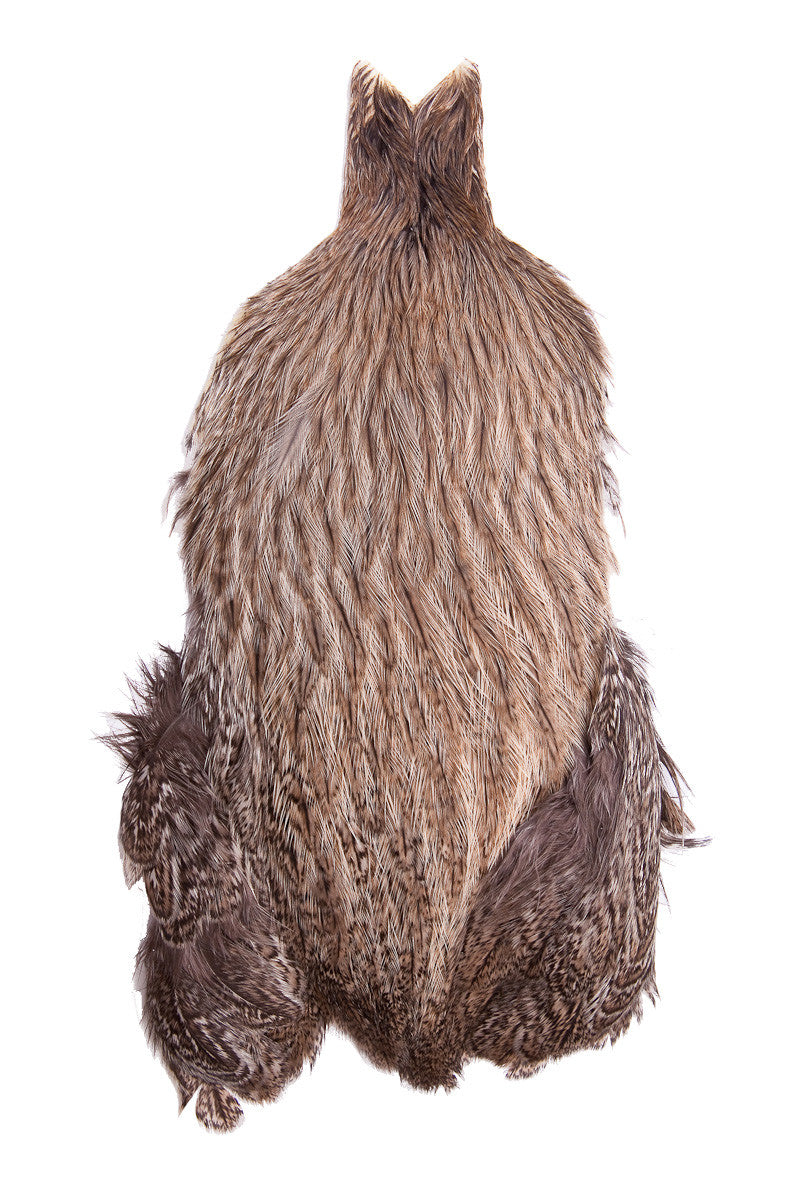 Coq De Leon Hen Cape - Brown Speckled