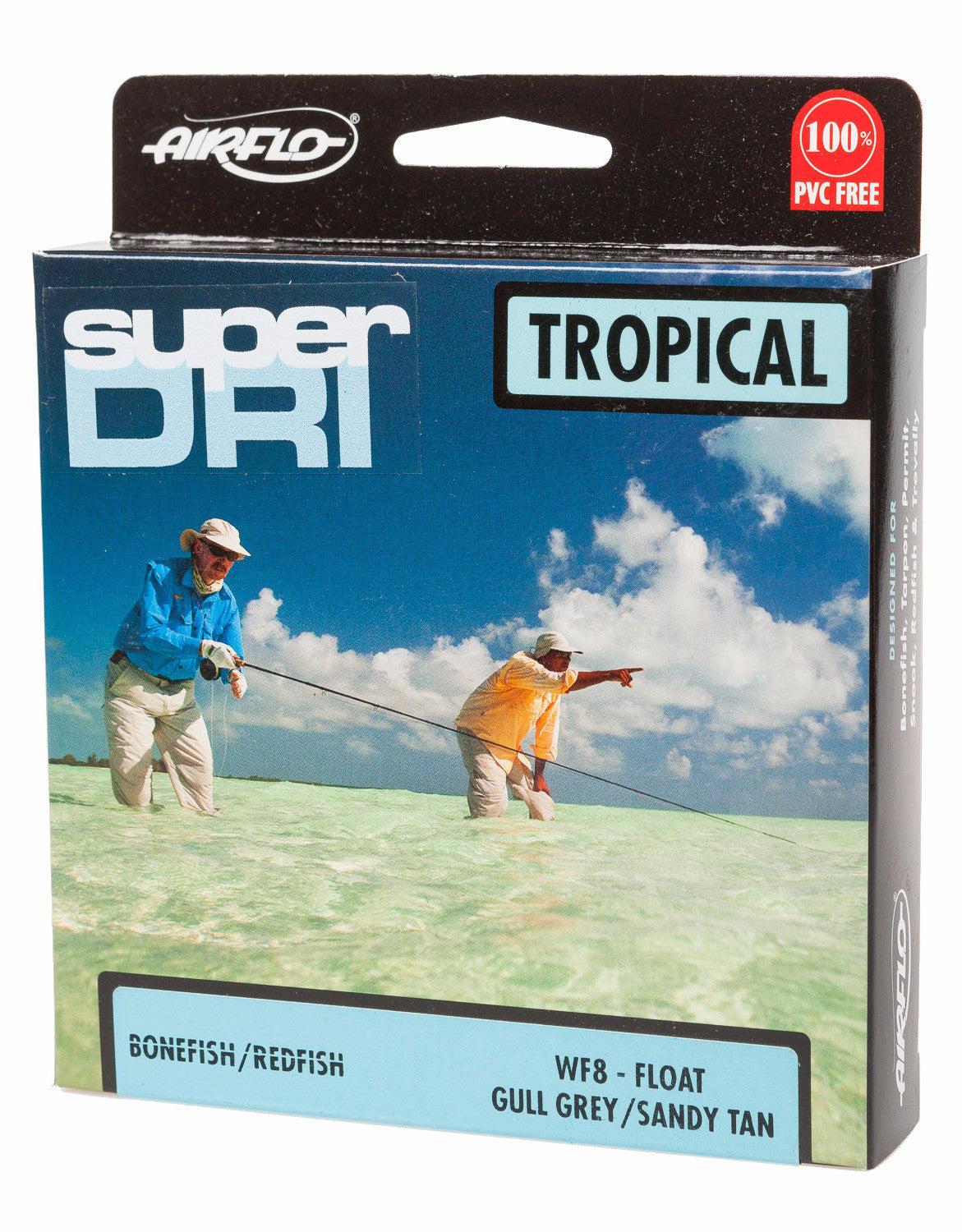 Airflo Super-Dri Tropical Ridge Bonefish/Redfish Fly Line