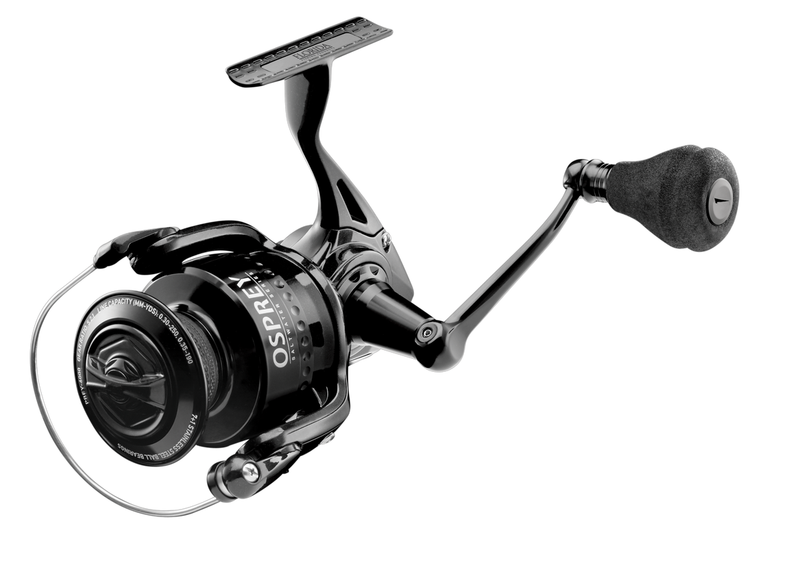 NEW Florida Fishing Products Osprey 6000 Saltwater Series Spinning Reel