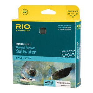 RIO Tropical Series General Purpose Saltwater I/I Fly Line