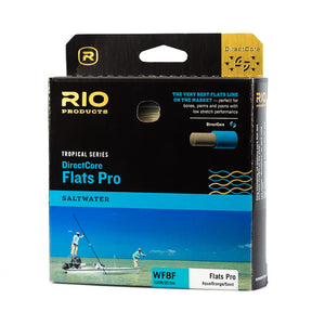 RIO Tropical Series DirectCore Flats Pro Fly Line