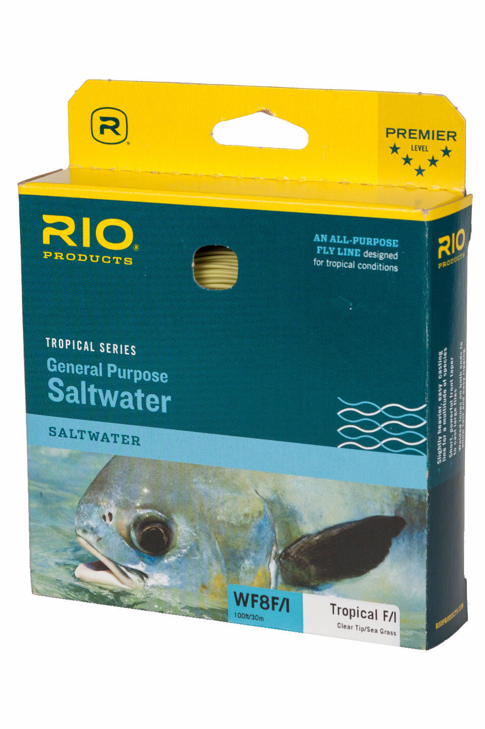 RIO Tropical Series General Purpose Saltwater F/I Fly Line