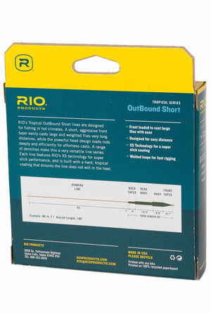 RIO Tropical Series OutBound Short Fly Line