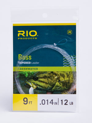 RIO Bass Tapered Leader