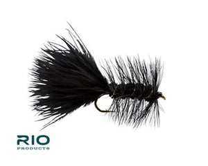 Rio Freshwater Fly - Woolly Bugger #6 Black